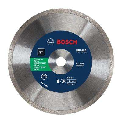 7 in. Continuous Diamond Saw Blade