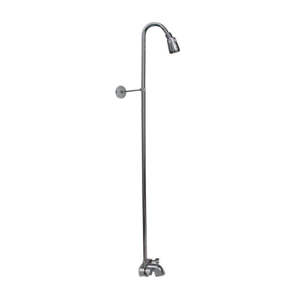 Pegasus 2 Handle Claw Foot Tub Faucet without Hand Shower with