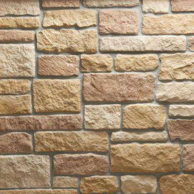 Austin Stone Tuscan Flats 10 sq. ft. Handy Pack Manufactured Stone