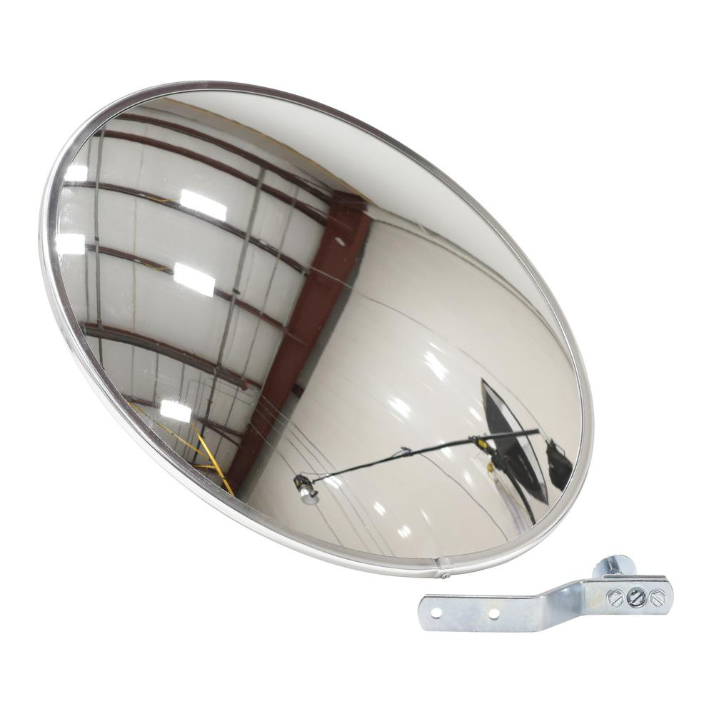 Vestil 18 In Industrial Acrylic Convex Mirror Cnvx 18 The Home
