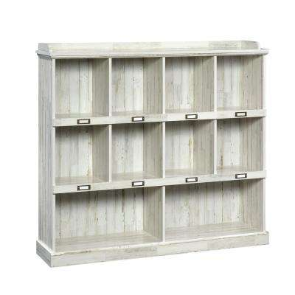 Barrister Lane White Plank Cubbyhole Bookcase