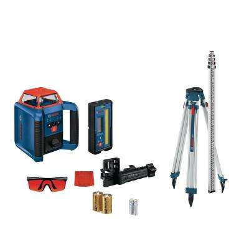 REVOLVE2000 Self-Leveling Horizontal Rotary Laser Kit