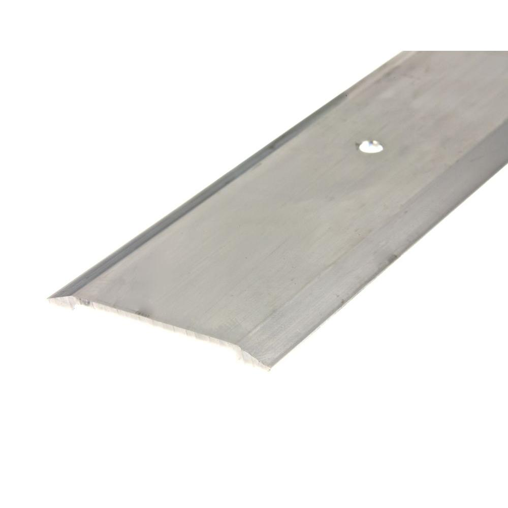 Frost King E/O 1-3/4 in. x 36 in. Satin Nickel Saddle Threshold for Interior Doorways