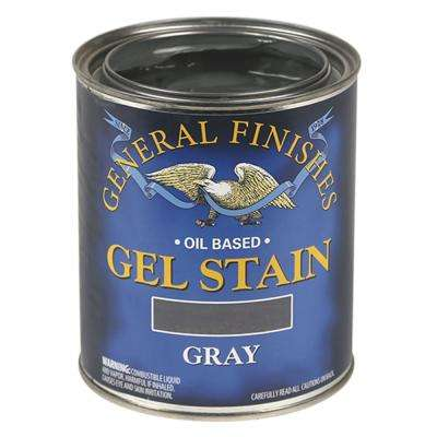 1-pt. Gray Oil-Based Interior Wood Gel Stain