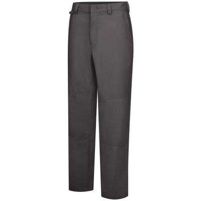 Men's 38 in. x 32 in. Charcoal Utility Work Pant