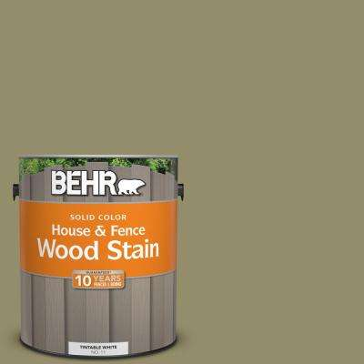 1 gal. #SC-151 Sage Solid Color House and Fence Exterior Wood Stain