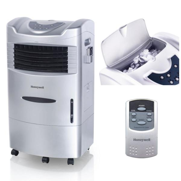 760 CFM 3-Speed Indoor Portable Evaporative Air Cooler (Swamp Cooler) with Remote Control for 280 sq. ft.