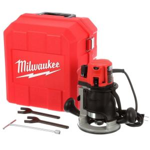 Milwaukee 2-1/4 Max HP Router Kit with Case by Milwaukee