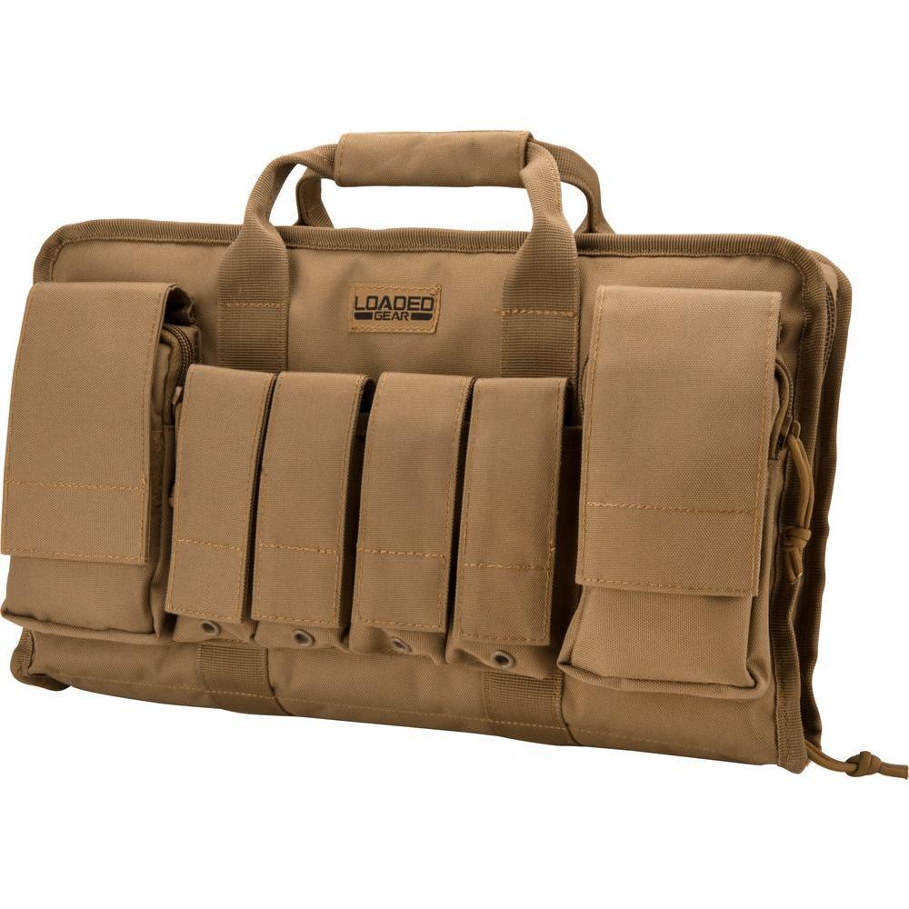 Loaded Gear RX-50 16 in. Tactical Pistol Bag in Flat Dark Earth