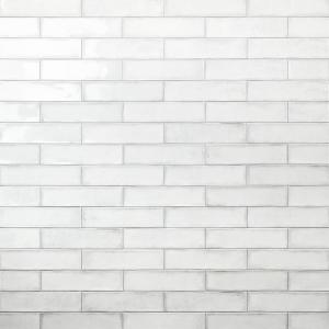 Ivy Hill Tile Moze White 3 In X 12 In 9 Mm Ceramic Wall