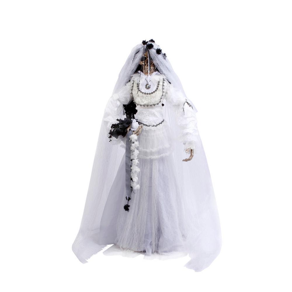 63 in. H Bride Skeleton Figure