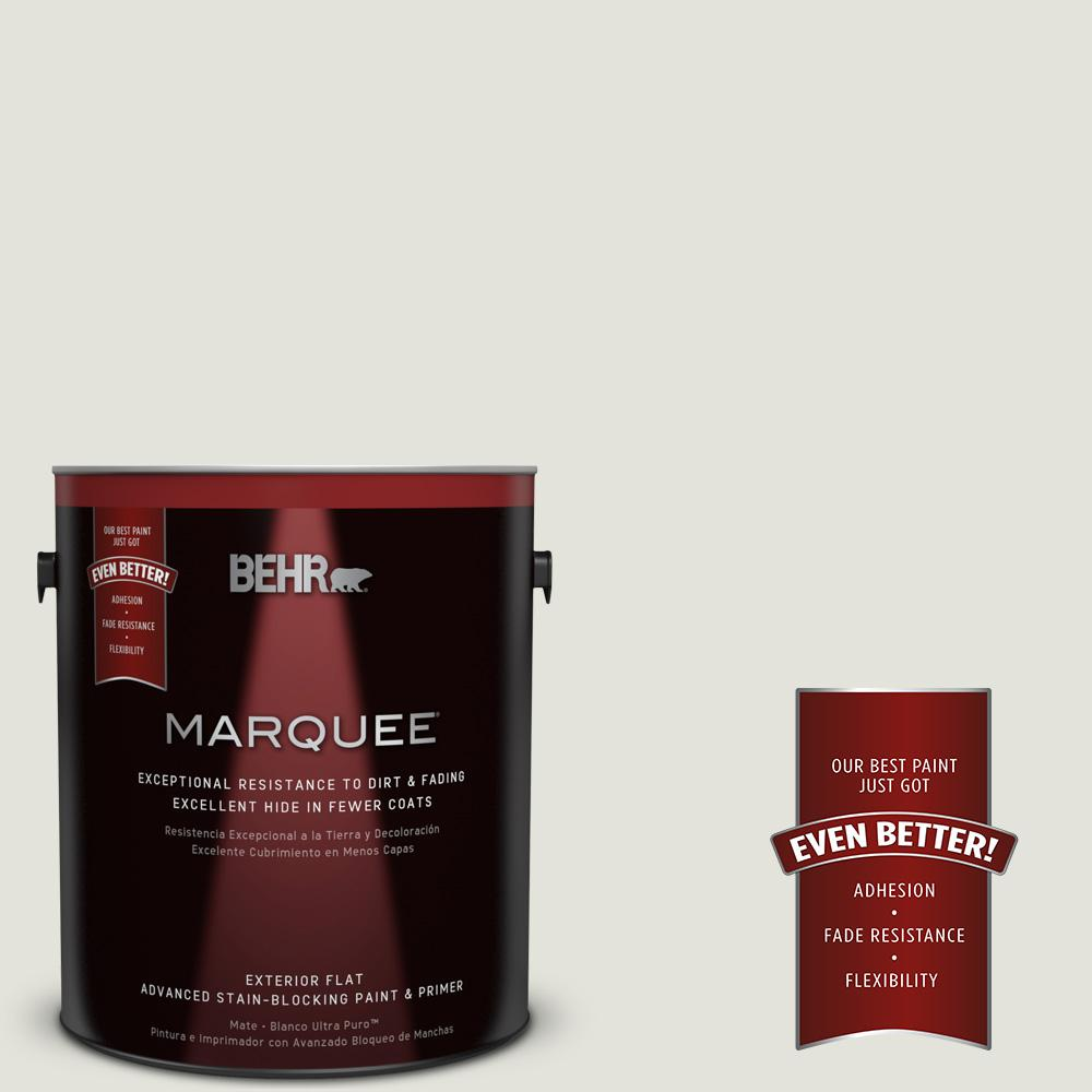 BEHR MARQUEE Home Decorators Collection 1-gal. #HDC-NT-24 Glacier Valley Flat Exterior Paint