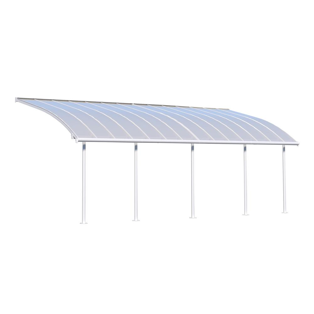 White Patio Cover Awning