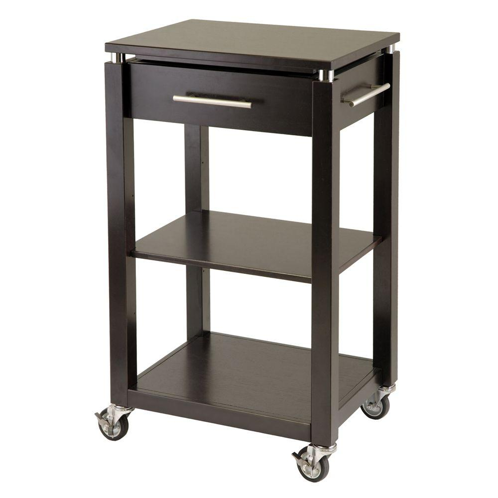 Winsome Wood Linea 22 in. Kitchen Work Center-DISCONTINUED