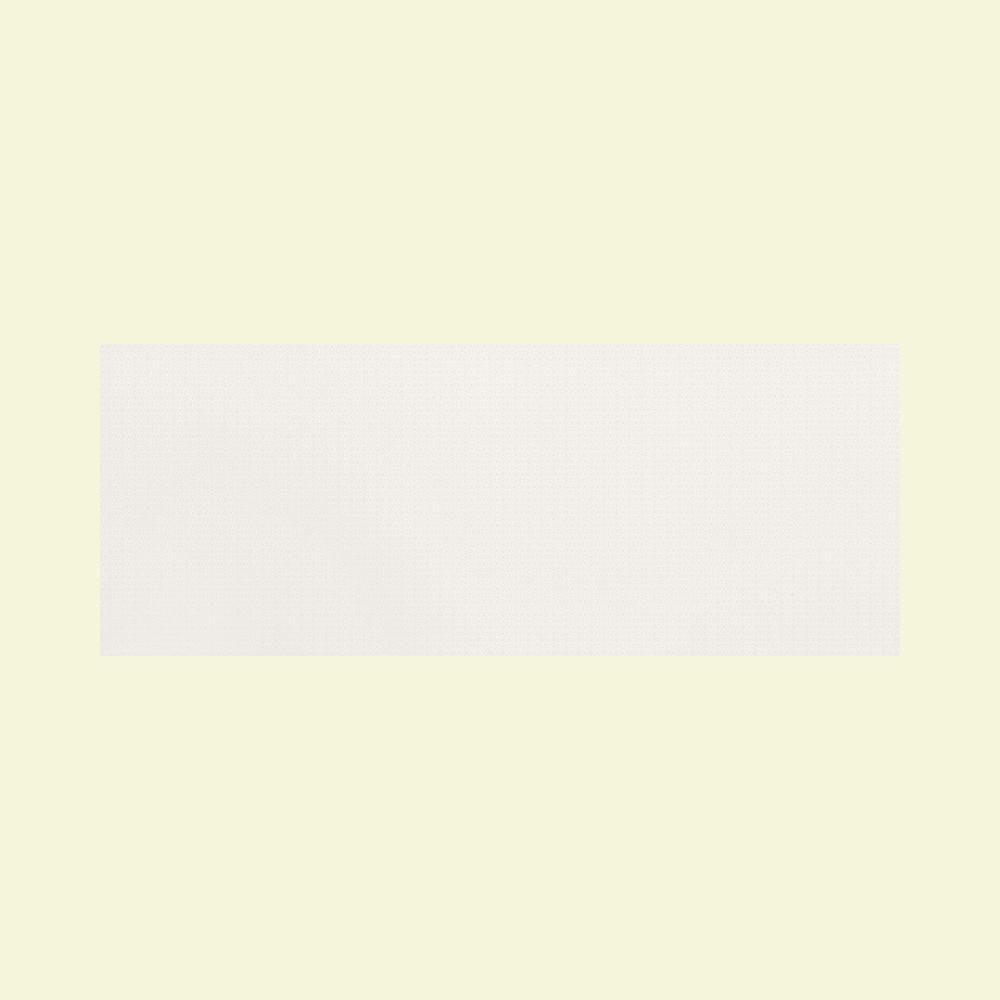 Daltile Identity Matte Paramount White 8 in. x 20 in. Ceramic Accent Wall Tile