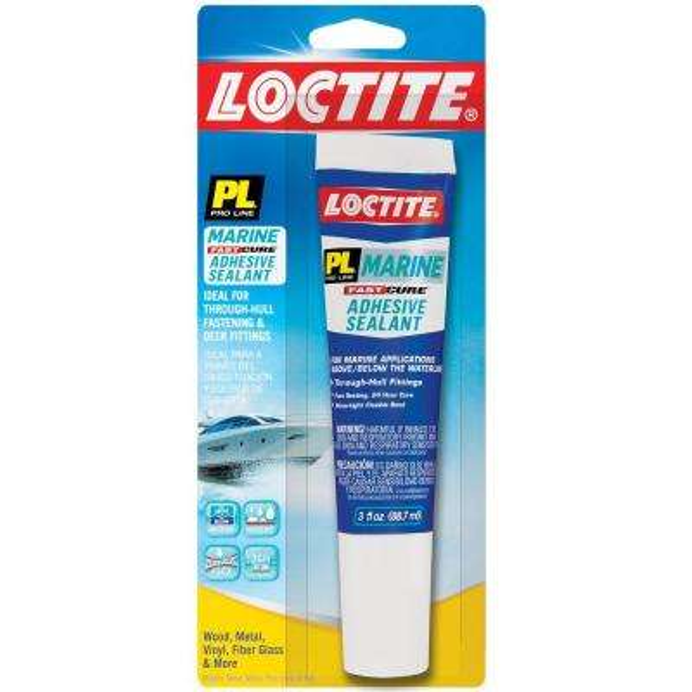 PL Marine 3 fl. oz. Fast Cure Adhesive Sealant
