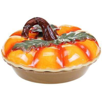 The Botanical Harvest Collection 3-D Pumpkin Pie Carrier