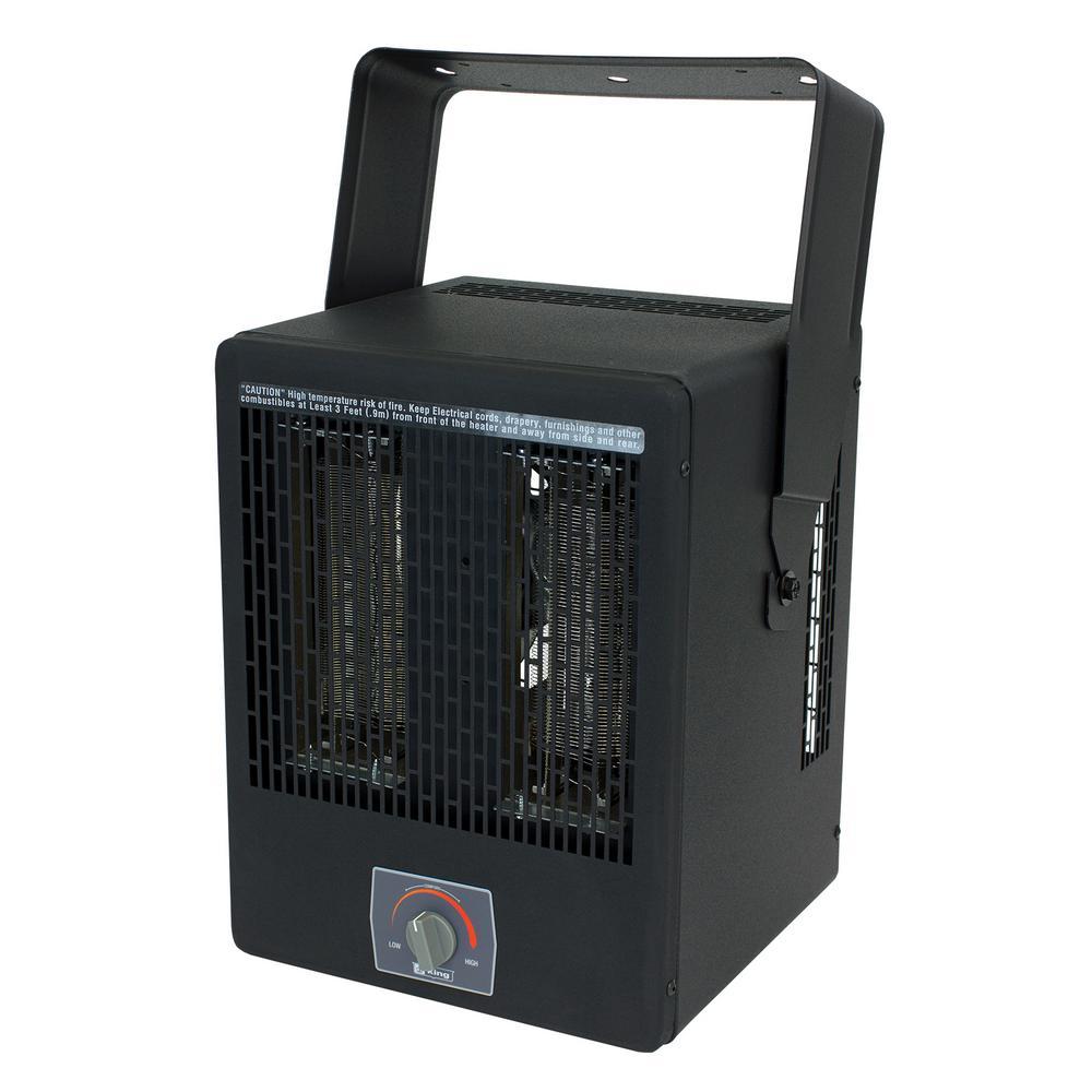 EKB Garage Heater 240-Volt 3850-Watt with Thermostat and Bracket