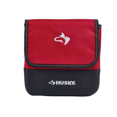 7 in. Rugged Storage Bag Pouch with Protective Flap