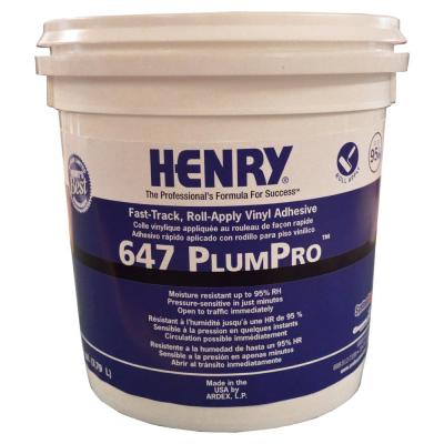 647 PlumPro 1 Gal. Luxury Vinyl Tile and Plank Flooring Adhesive