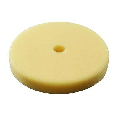 7 in. Yellow Foam Polishing Pad