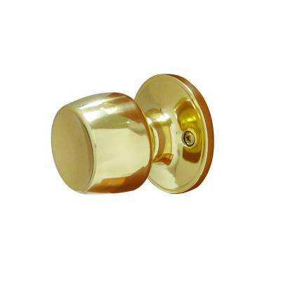Brandywine Polished Brass Dummy Door Knob