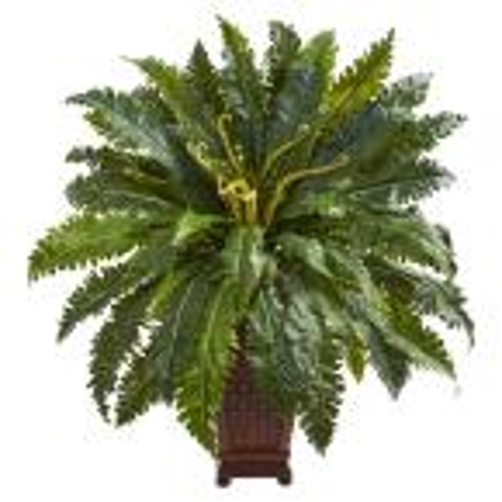 Indoor Marginatum Artificial Plant in Decorative Planter