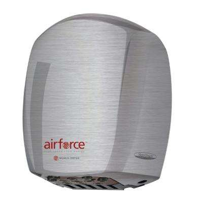 Airforce Electric Hand Dryer in Brushed Chrome