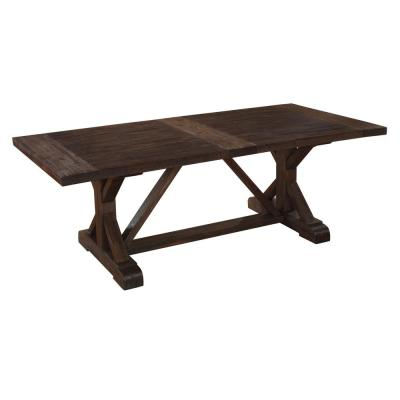 Cameron Antique Charcoal Extendable Dining Table