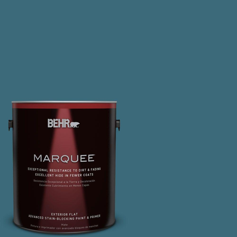 BEHR MARQUEE 1-gal. #S460-6 Mammoth Mountain Flat Exterior Paint