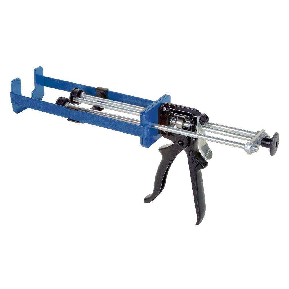 COX 150 ml x 150 ml/150 ml x 75 ml Dual Cartridge Extra Thrust Epoxy Applicator Gun