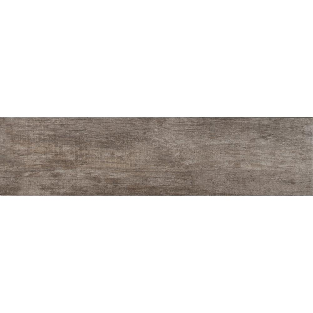 MSI Vogue Bruciato 6 in. x 36 in. Glazed Porcelain Floor and Wall Tile (36 cases / 486 sq. ft. / pallet)