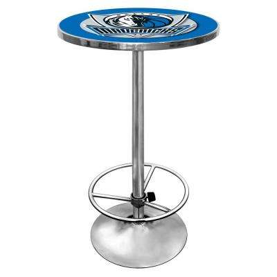 NBA Dallas Mavericks Chrome Pub/Bar Table