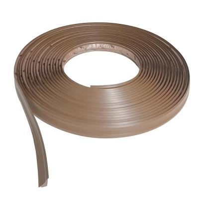 3/4 in. x 50 ft. Light Brown PVC Inside Corner Self-adhesive Flexible Trim Molding