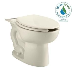 American Standard Cadet Pressure-Assisted 1.1/1.6 GPF Elongated Toilet Bowl Only in Linen by American Standard