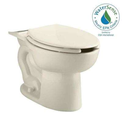 Cadet Pressure-Assisted 1.1/1.6 GPF Elongated Toilet Bowl Only in Linen