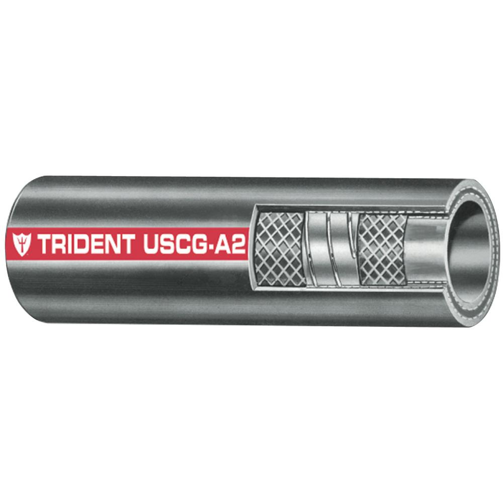Trident Systems 1 in. x 12.5 in. Type A2 Fuel Fill Hose, ...