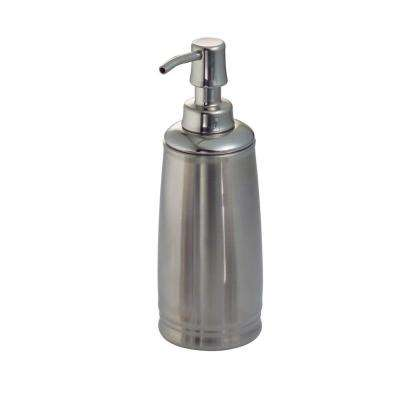Cameo Soap Pump Dispenser in Split Finish Polished and Brushed