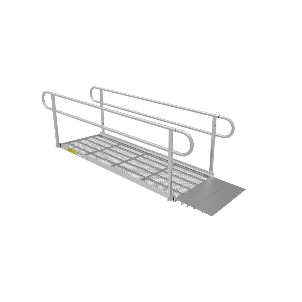 8 ft. Expanded Metal Ramp Kit