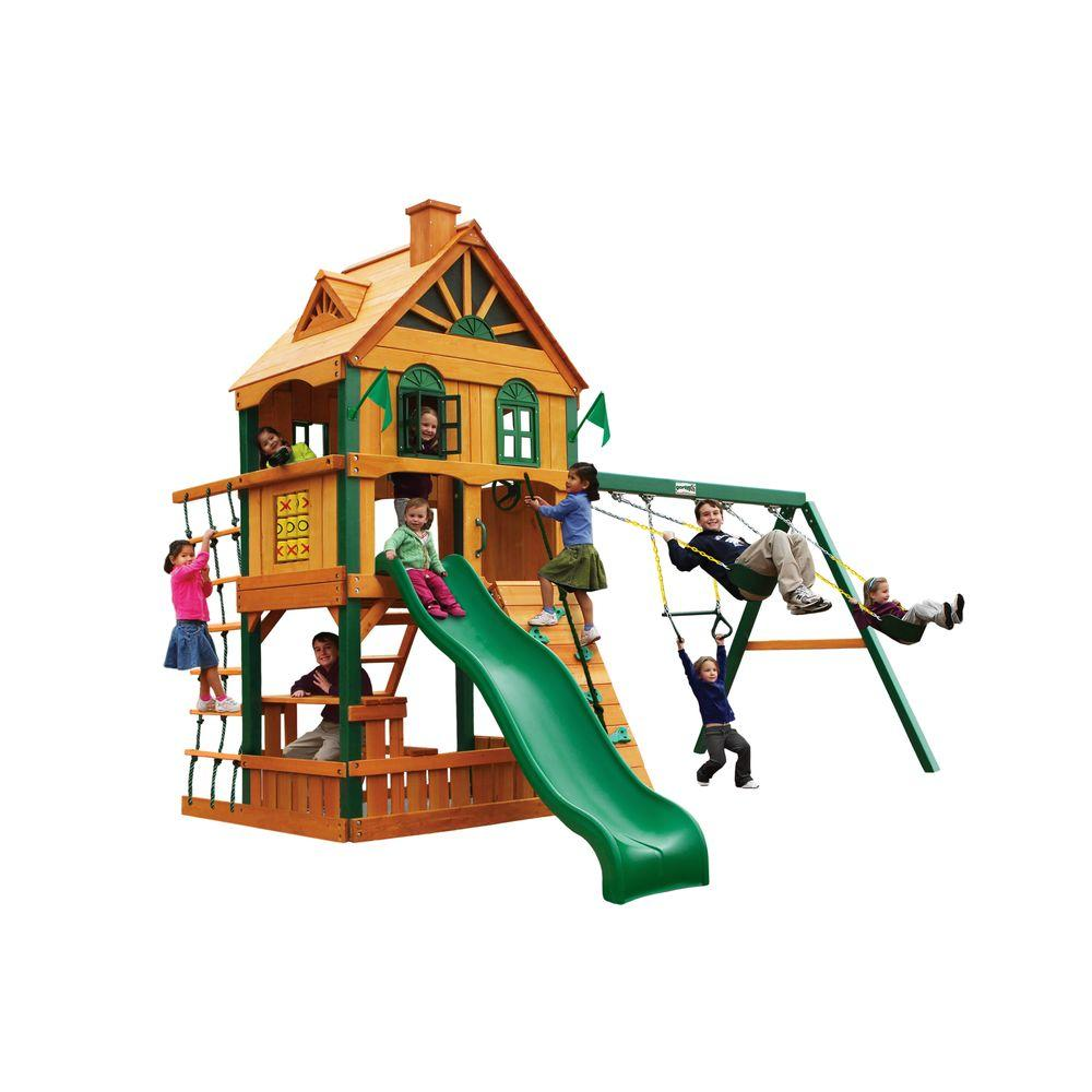 Gorilla Playsets Riverview Cedar Playset
