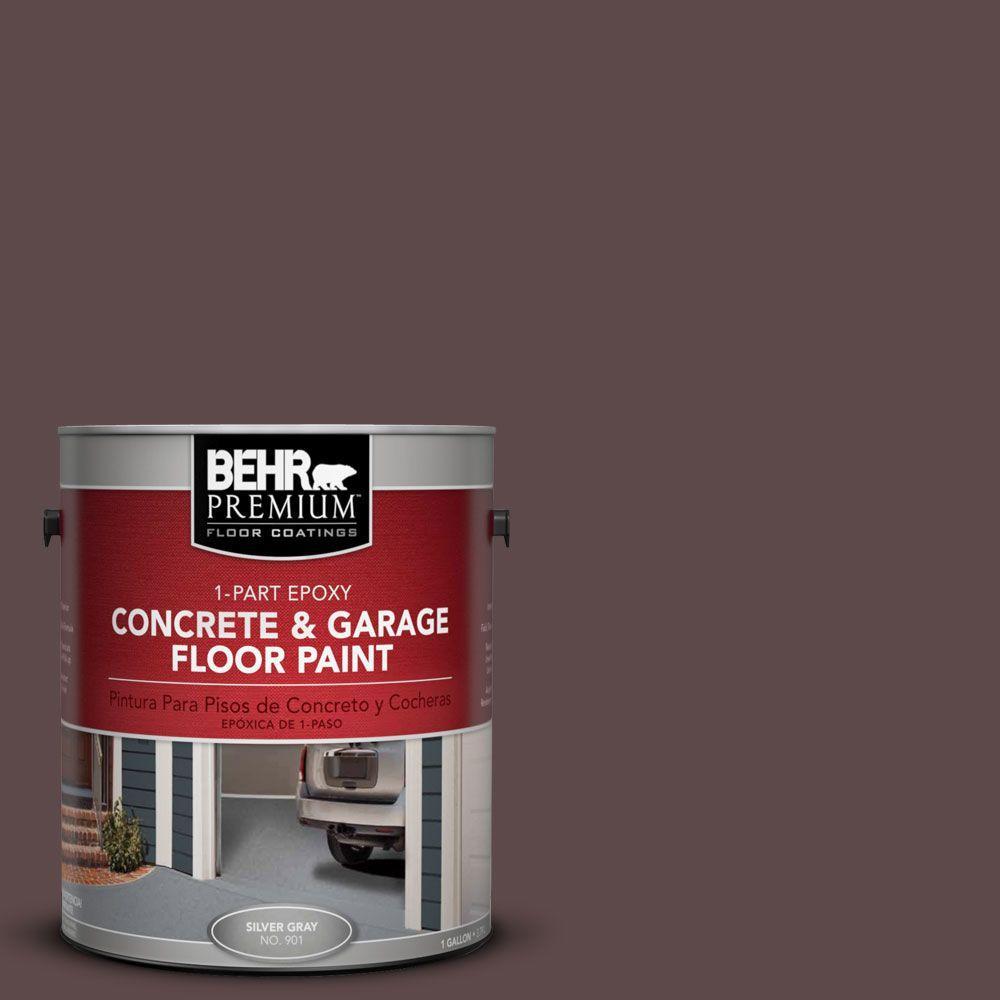 BEHR Premium 1-Gal. #PFC-05 Cafe Iruna 1-Part Epoxy Concrete and Garage Floor Paint