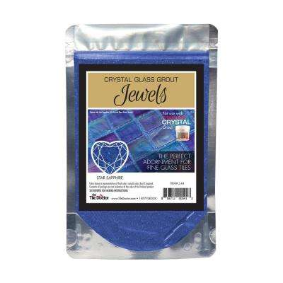 Crystal Glass Jewels Star Sapphire Additive