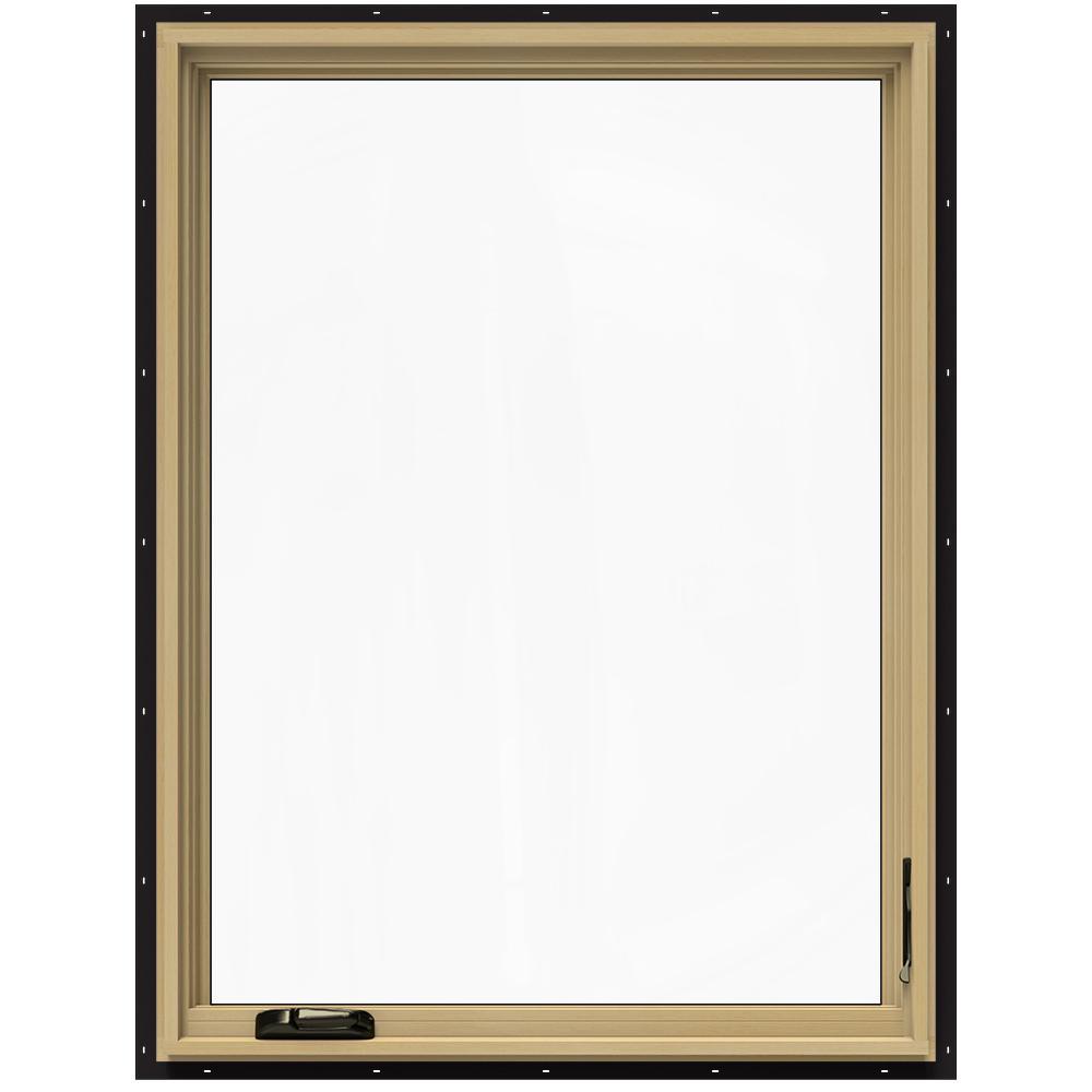 36.75 in. x 48.75 in. W-2500 Right-Hand Casement Wood Window