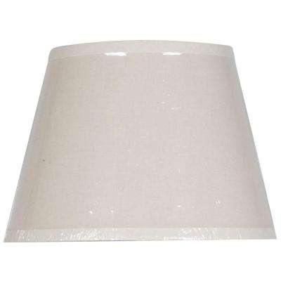 Mix & Match Linen Oval Accent Lamp Shade