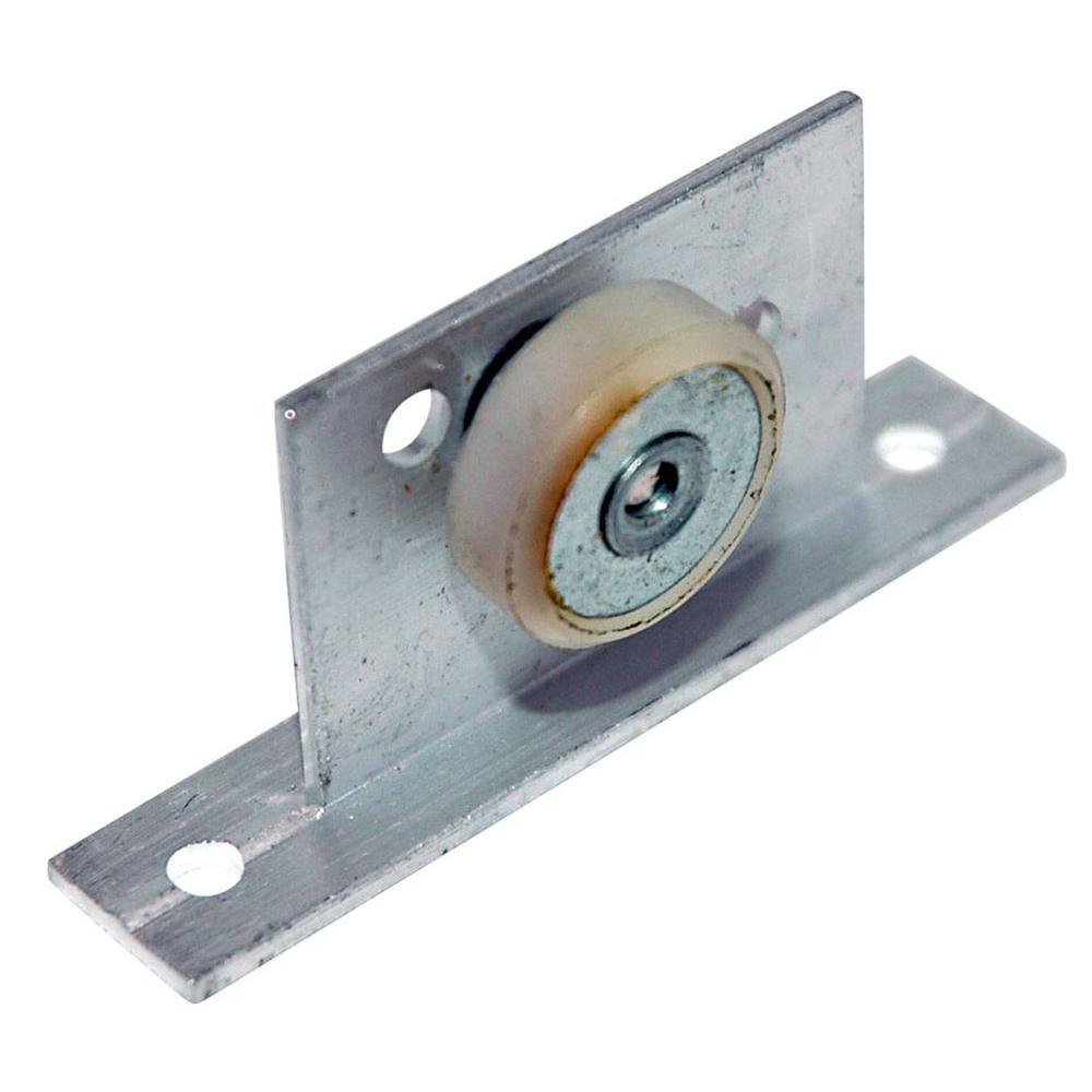 1 in. Shower Door Wheel and Bracket Assemblies (2-Pack)
