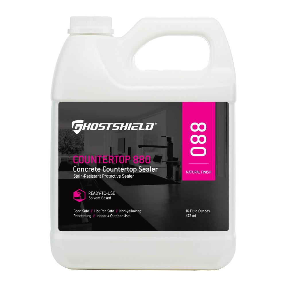 Ghostshield 16 Oz. Concrete Countertop Water And Stain Repellent