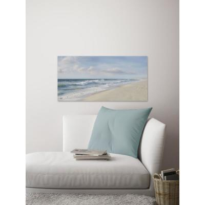 """30 in. H x 60 in. W """"Hamptons II"""" by Marmont Hill Canvas Wall Art"""