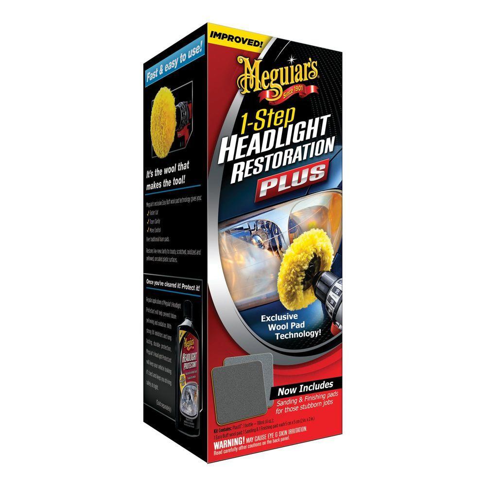 One-Step Headlight Restoration Plus Kit