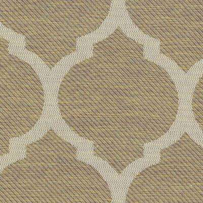 Toffee Trellis Lounge Chair Patio Slipcover