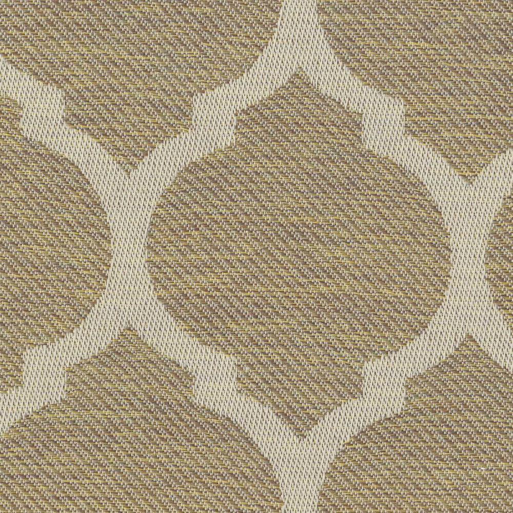 Toffee Trellis Patio Ottoman Slipcover